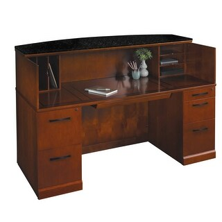 Entice Wood Reception Counter