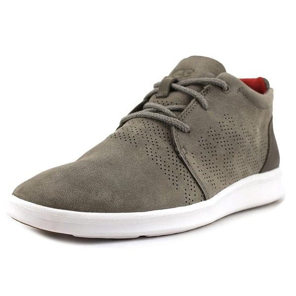 UGG Larken Men Leather Gray Fashion Sneakers
