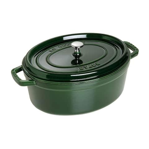 Staub Cast Iron 7-qt Oval Cocotte