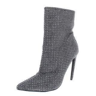 8807a9e7a48 Steve Madden Womens Wifey Ankle Boots Studded Heels - 8.5 medium (b