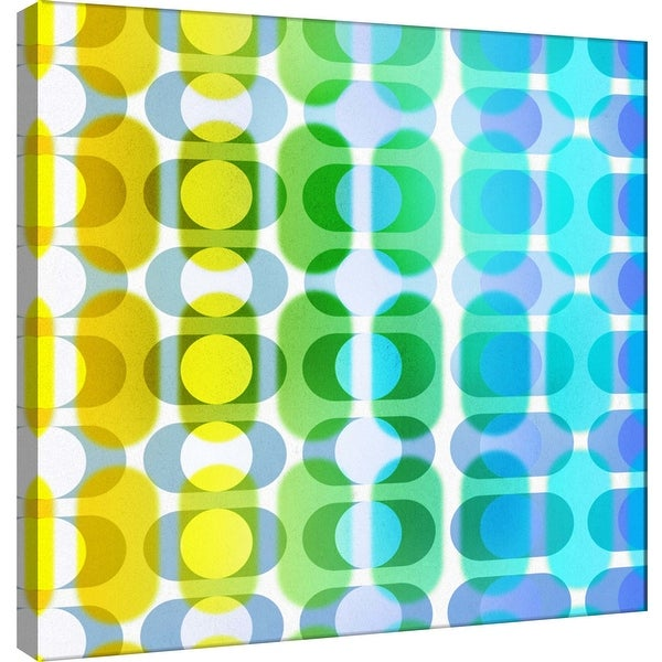"""PTM Images 9-101071 PTM Canvas Collection 12"""" x 12"""" - """"Transitions D"""" Giclee Abstract Art Print on Canvas"""