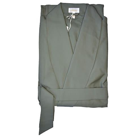 Brioni Mens Green Lounge Robe Size L