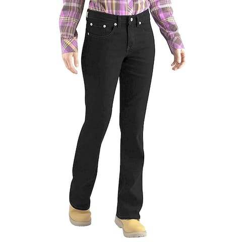 40181df7dad Dickies Womens Relaxed Fit Stretch Boot-Cut Jean