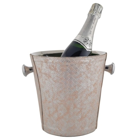 Sol Living Double Walled Stainless Steel Champagne Bucket - 8' x 11'