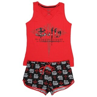 Buffy The Vampire Slayer 20th Anniversary Shirt And Shorts Pajama Set