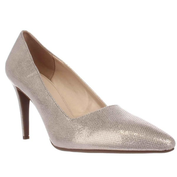 B35 Joella Classic Pumps, Gold Metallic - 11 us