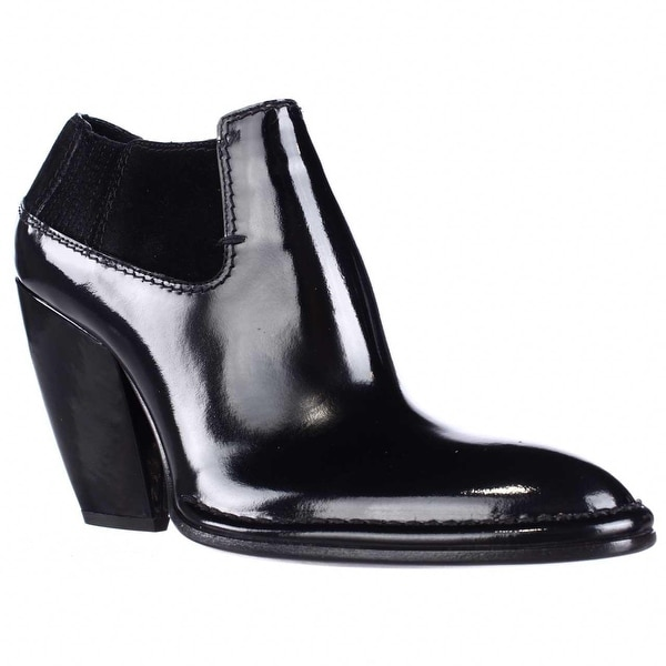 CoSTUME NATIONAL 1115930 Pointed-Toe Ankle Boots, Nero - 9.5 us / 39.5 eu