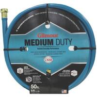 """Gilmour 15-58050 4 Ply Reinforced Hose, 5/8"""" x 50', Blue"""
