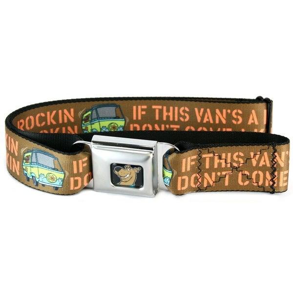Scooby Doo If This Van's A Rockin Seatbelt Belt