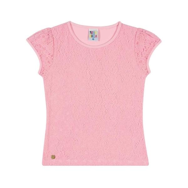 Girls Shirt Kids Top Lace Tee Pulla Bulla Sizes 2-10 Years
