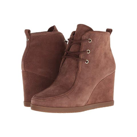 Michael Michael Kors Womens tamata Fabric Almond Toe Ankle Fashion Boots