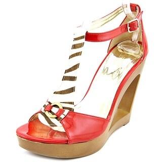 Carlos by Carlos Santana DENISE Women Open Toe Synthetic Wedge Heel