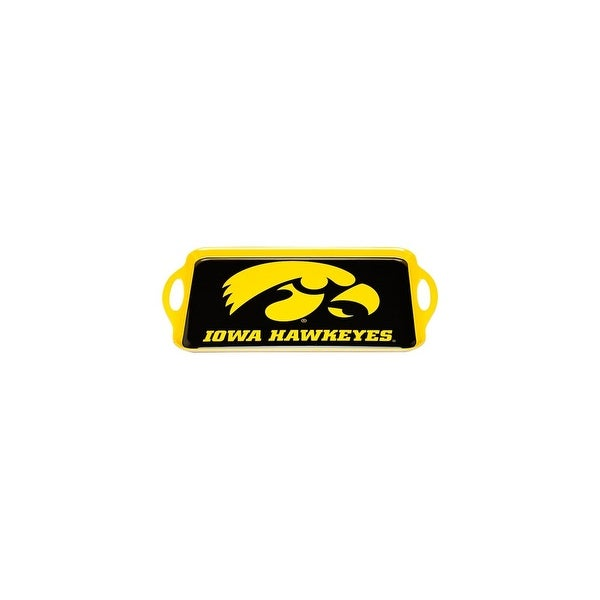 Bsi Products Inc Iowa Hawkeyes Melamine Serving Tray Melamine Serving Tray