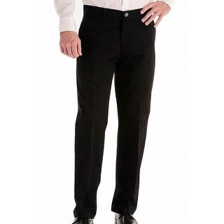 Link to Lee Mens Pants Solid Black Size 38x30 Relaxed Fit Freedom Comfort Chino Similar Items in Big & Tall