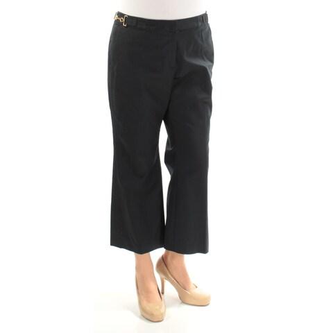 MICHAEL KORS Womens Navy Wear To Work Pants Size: 8