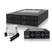 Icy Dock Tougharmor Mb994sp-4Sb-1 4 X 2.5 Sata 6Gbps Hdd / Ssd Mobile Rack / Cage In 1 X 5.25 Bay