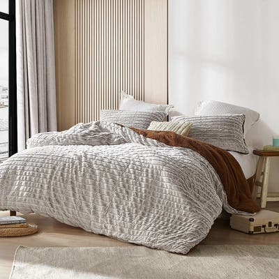 Buttery Muffins - Coma Inducer® Oversized Duvet Cover - Creamy Cream
