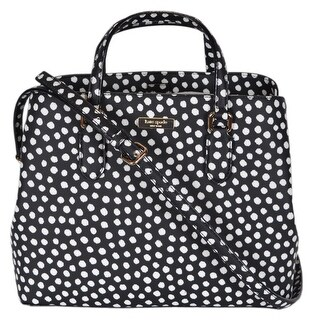 "Kate Spade Musical Dot Laurel Way Medium Evangelie Handbag Purse - 12"" x 9.5"" x 5.5"""