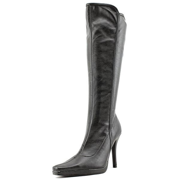 6abda6d70f57c Chinese Laundry Faith Women Pointed Toe Synthetic Black Knee High Boot