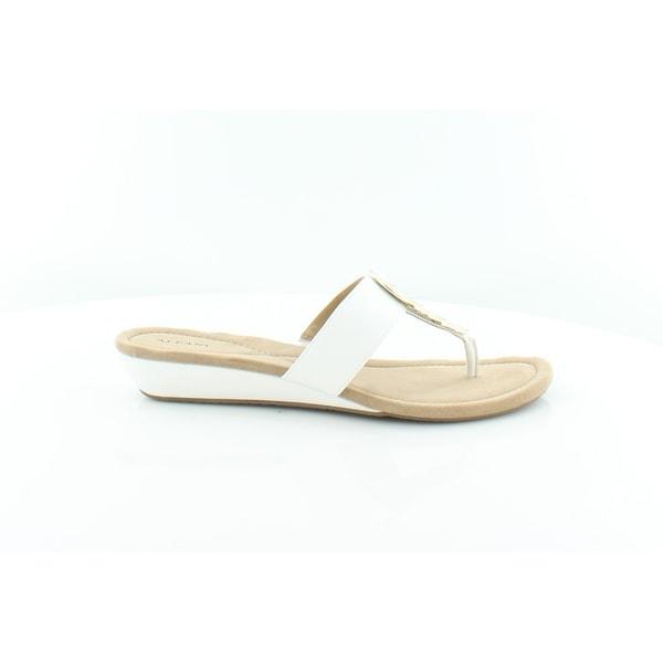 Alfani Fleurr Women's Sandals & Flip Flops White - 6.5
