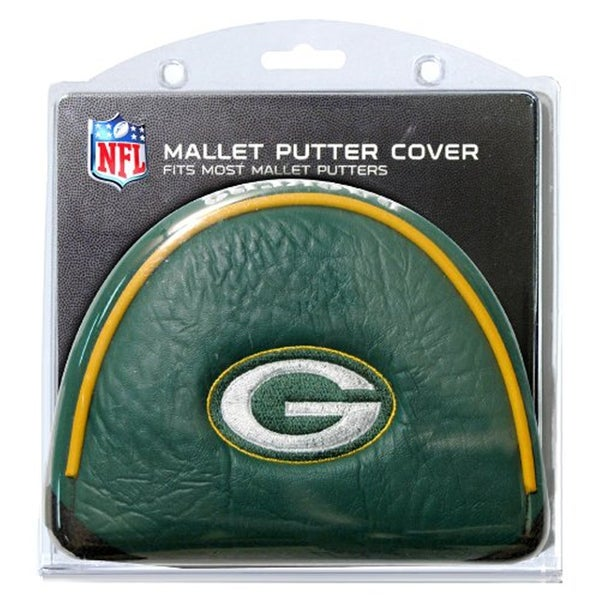 Green Bay Packers NFL Putter Golf Club Mallet Cover - multi