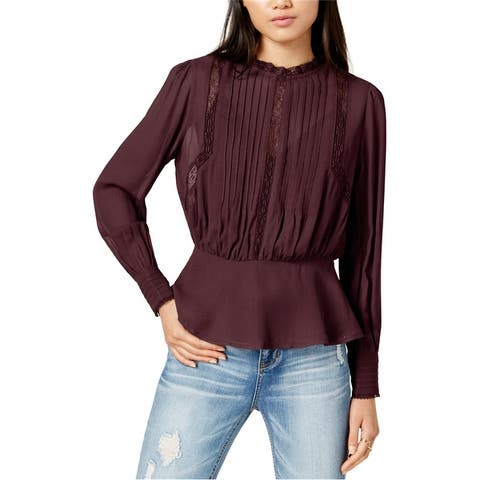 Astr The Label Womens Primrose Button Up Shirt