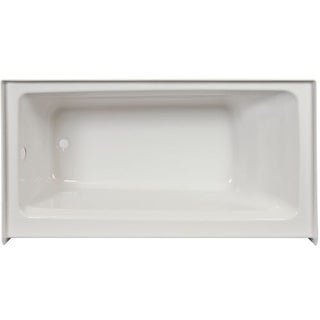 """Jacuzzi J1S6036BRXXXX Signature 60"""" Acrylic Soaking Bathtub for Alcove Installations with Right Drain"""