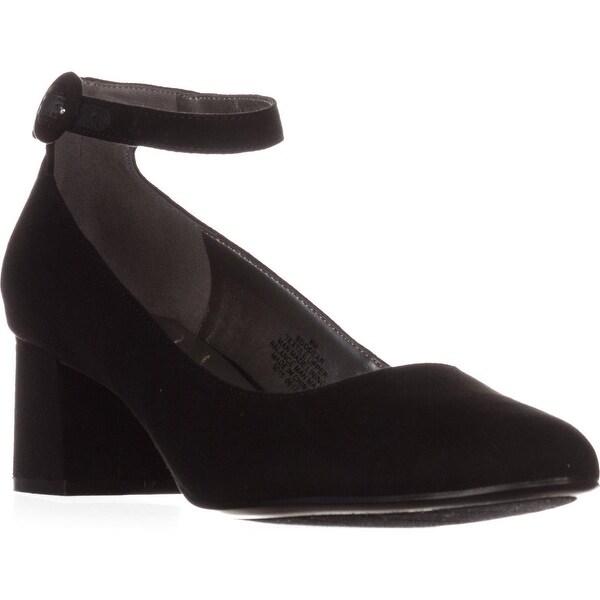 Bandolino Odear Ankle-Strap Heels, Black