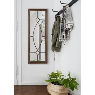 Link to Kate and Laurel Bakersfield Wood Framed Mirror Similar Items in Mirrors