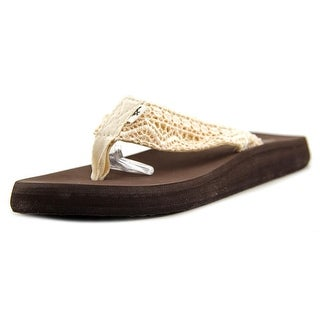 Rocket Dog Nina 2 Women Open Toe Canvas Brown Thong Sandal