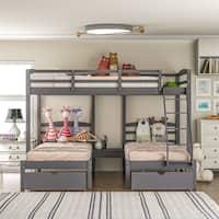 Triple Bunk Kids Toddler Beds Shop Online At Overstock