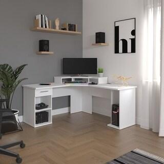 Link to Bestar Hampton 66W L-Shaped Corner Gaming Desk Similar Items in Home Office Furniture