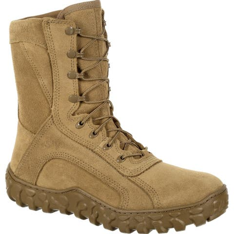 All Leather Military Boot Rocky S2V RKC080