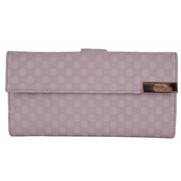 116a9ad76887e5 Shop GUCCI Women's 257012 Violet Purple Leather GG Continental Clutch Wallet  - Free Shipping Today - Overstock - 12150863
