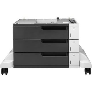 HP LaserJet 3x500-sheet Feeder and Stand - 1500 Sheet - Plain (Refurbished)