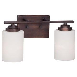 Millennium Lighting 3182 Durham 2 Light Bathroom Vanity Light