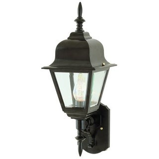 Trans Globe Lighting 4412 Single Light Up Lighting Outdoor Wall Sconce from the Outdoor Collection