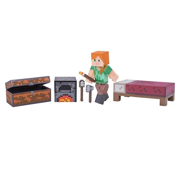 "Minecraft 3"" Action Figure: Alex Survival Pack - multi"