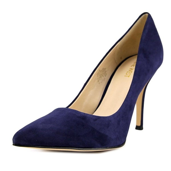 Nine West Flax Pointed Toe Suede Heels