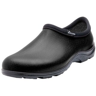 Sloggers 5301BK10 Men's Rain and Garden Shoe, Black, Size 10