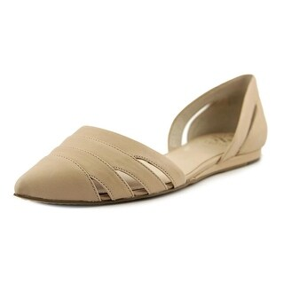 Vince Camuto Halette Women Pointed Toe Synthetic Nude Flats