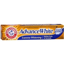 ARM & HAMMER Advance White Extreme Whitening with Stain Defense Toothpaste, 6 oz