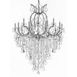 Maria Theresa Crystal Chandelier Lighting H50 x W37