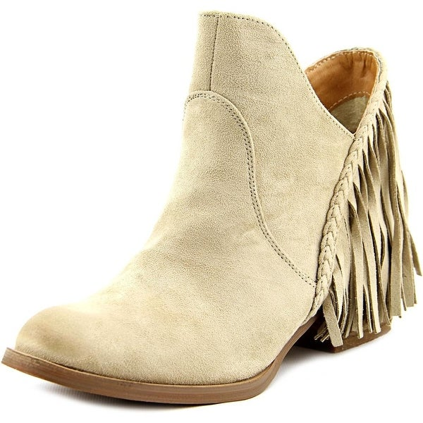 Not Rated Braxton Women Round Toe Synthetic Ankle Boot