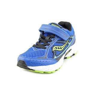 Saucony Cohesion 7 AC Youth Round Toe Leather Blue Sneakers