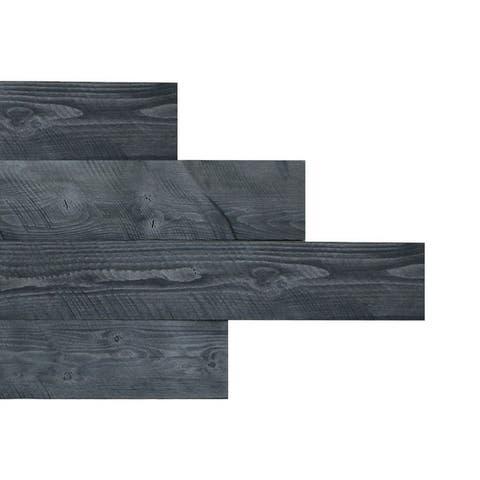 "HighlanderHome Peel & Stick Solid Wood Wall Panel,5"" x 48""/pc"