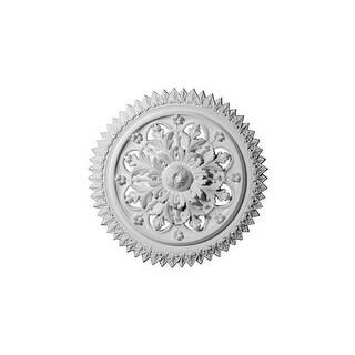 """Ekena Millwork CM21YO 21.625"""" Wide York Ceiling Medallion"""
