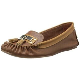 Very Volatile Womens Anibal Leather Tassel Loafers - 7 medium (b,m)