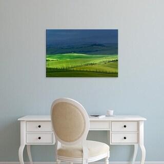 Easy Art Prints Adam Jones's 'Rolling Agricultural Fields' Premium Canvas Art