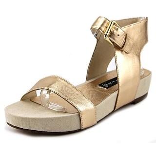 Steven Steve Madden Kaylaaa Open Toe Leather Platform Sandal